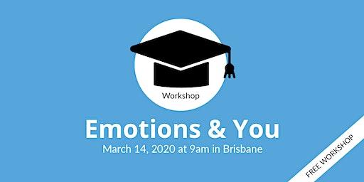 Emotions and You Workshop (Brisbane)