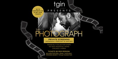 The PhotoGraph Private Screening Hosted By tgin