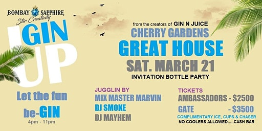 Gin Up March 21 2020