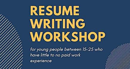 Resume Writing Online Workshop tickets