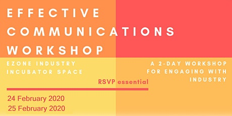 Effective Communications Workshop tickets
