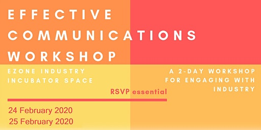Effective Communications Workshop