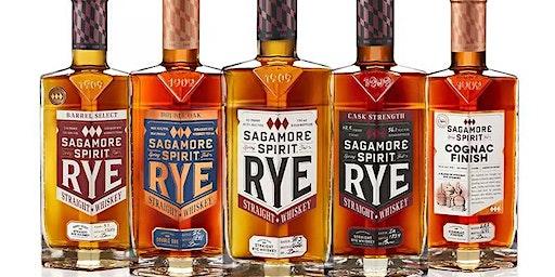 Sagamore Whiskey Tasting