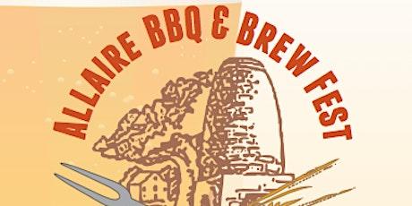 BBQ & Brew tickets