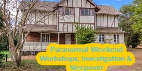 Fairbridge Village WA Paranormal Investigation, Workshop & Sleepover tickets