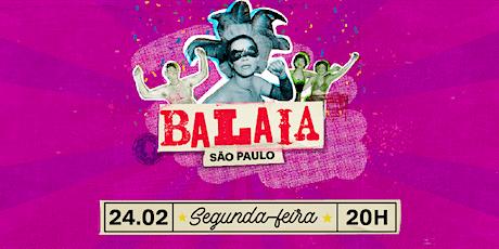 BALAIA SP - 24/02/20 ingressos
