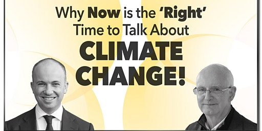 Why now is the 'right' time to talk about climate change!