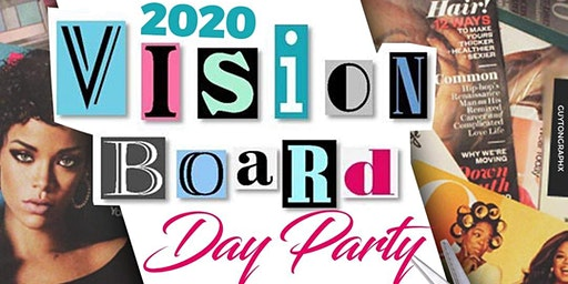 2020 Vision Board Day Party