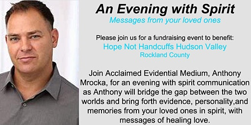 An Evening with Spirit; Messages from your loved ones with Anthony Mrocka