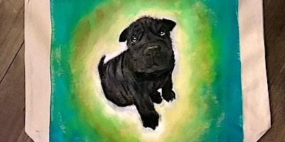 Paint your pet! Sip,Paint & Have Fun