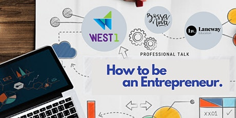How to be an Entrepreneur in Australia tickets