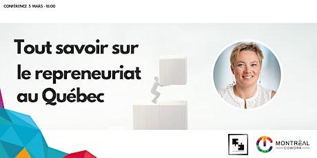 Tout savoir sur le repreneuriat au Québec billets