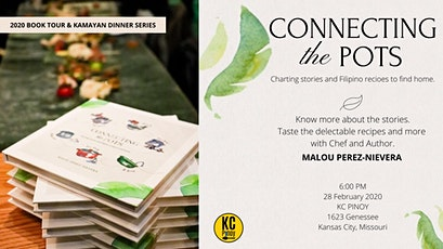 Connecting the Pots Book Tour and Kamayan Dinner Series tickets