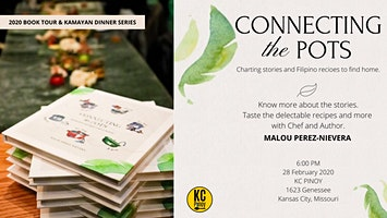 Connecting the Pots Book Tour and Kamayan Dinner Series