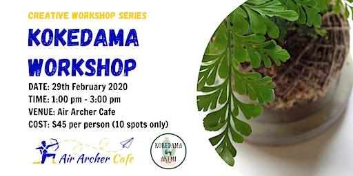 Kokedama Workshop February