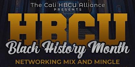 Cali HBCU Black History Month Mixer tickets
