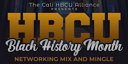 Cali HBCU Black History Month Mixer