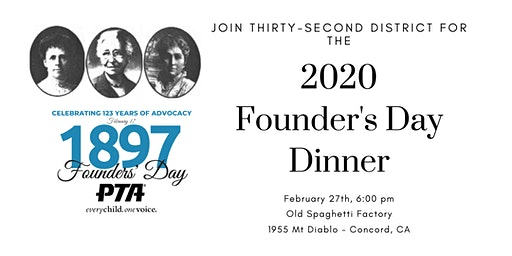 2020 Thirty-Second District Founder's Day Dinner