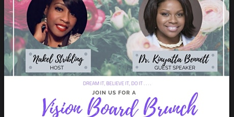 Vision Board Brunch tickets