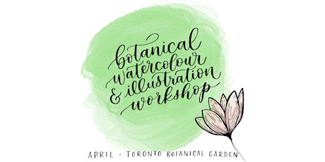Botanical Watercolour & Illustration Workshop tickets