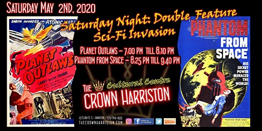 Saturday Night: Double Feature - Sci-Fi Invasion