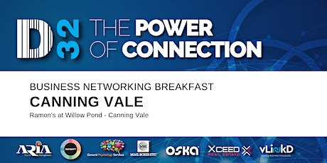 District32 Business Networking Perth – Canning Vale - Thu 02nd Apr tickets