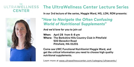 The UltraWellness Center Lecture Series Featuring Maggie Ward, RD tickets