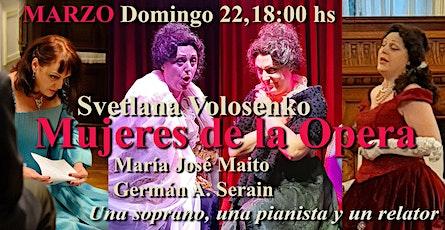 Mujeres de la Opera - Galalirica entradas