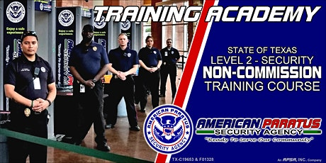 TX Level 2 - Security Non-Commission Course (Killeen, TX) tickets