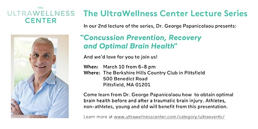 The UltraWellness Lecture Series featuring Dr. George Papanicolaou