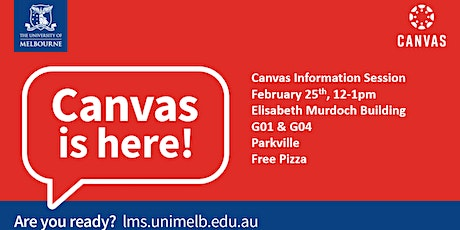Canvas Student Info Session tickets