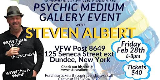Steven Albert: Psychic Medium Gallery VFW - 2/28
