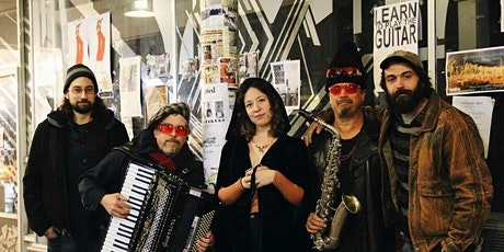 Live Balkan Brass with Max's New Hat tickets