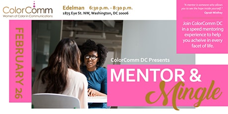 ColorCommDC Presents: Mentor & Mingle tickets