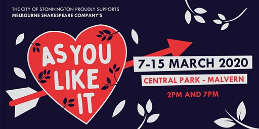 Melbourne Shakespeare Company Presents As You Like It