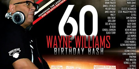 DJ Wayne Williams Birthday Bash tickets