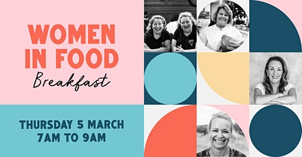 Women in Food breakfast tickets