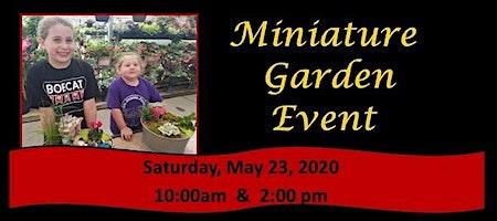 Miniature Garden Event