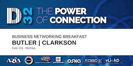 District32 Business Networking Perth – Clarkson / Butler / Perth - Fri 17th Apr tickets