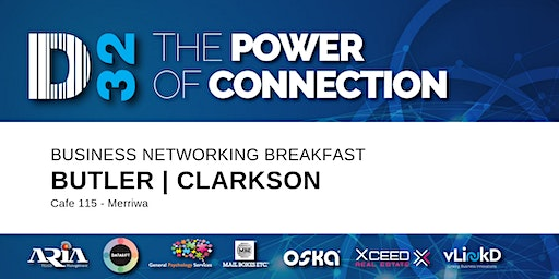 District32 Business Networking Perth – Clarkson / Butler / Perth - Fri 17th Apr