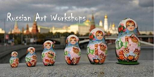 Parent - Child Matryoshka Painting