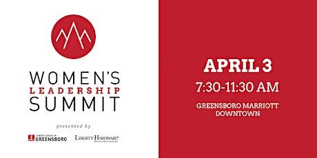 The Junior League of Greensboro's 10th Annual Women's Leadership Summit tickets