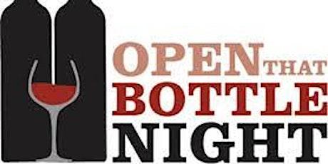 Open That Bottle Night Wine Dinner tickets