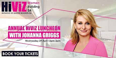 HIVIZ WOMEN BUILDING SA LUNCHEON 2020 WITH JOHANNA GRIGGS tickets