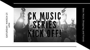 CK Music Series Kick Off to benefit the New Kent Humane Society