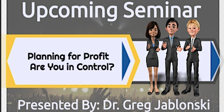 Planning for Profit - Are You in Control? tickets