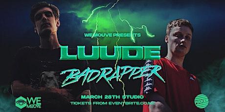 LUUDE & Badrapper (AUS) — Auckland tickets