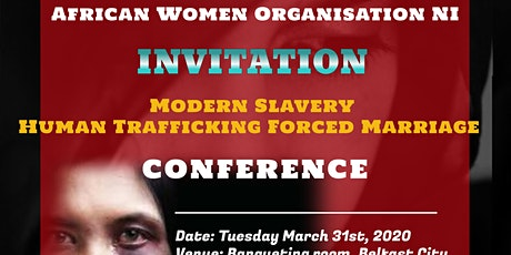 Modern Slavery Human Trafficking Forced Marriage Conference tickets