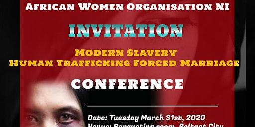 Modern Slavery Human Trafficking Forced Marriage Conference