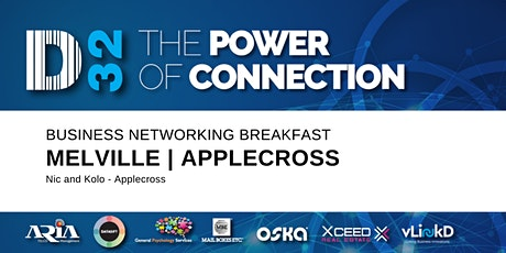 District32 Business Networking Perth– Melville / Mt Pleasant / Applecross Breakfast - Wed 08th Apr tickets